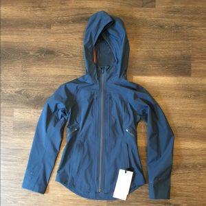Lululemon Break a Trail Jacket Navy Blue Size 0
